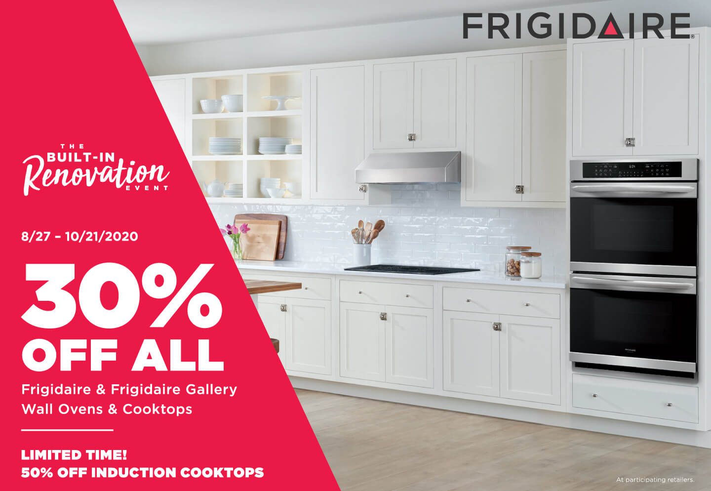 The Frigidaire Built-In Renovation Event